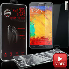 Samsung Galaxy Note 3 Panzerglasfolie Schutzglas 9H Schutzfolie Echt Glas Folie