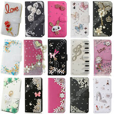 Phone Purse Bag Bling Case Fashion Wallet Flip PU Leather Cover For iPhone X/8/7