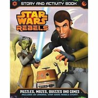 Star Wars Rebels Story and Activity Book BRAND NEW BOOK (Paperback, 2014)