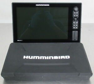 T178143 Humminbird Solix 12 SI Fish Finder Display w/ Silicone Cover