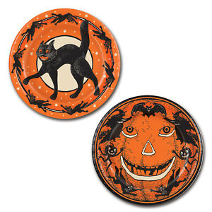 Halloween Plates (Pack of 12)