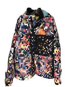 BURTON DryRide Snowboard Jacket, Men L - Excellent Preowned Condition