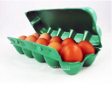 50 EIERSCHACHTELN stabil aus STYROPOR Eierpappen Eierkartons Eierbox auswischbar