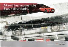 Prospekt / Brochure Audi A5 Coupé S line competition 04/2012