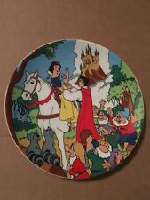 """Snow White """"Happily Ever After"""" Plate 002/15000 - RARE - Limited Edition"""