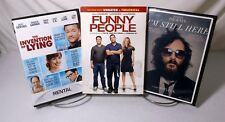 3 DVD Comedy,Romance, Drama Movie Pack #1 Invent.of Lying,Fnny Pple,I'm Stll Hre