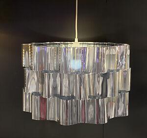 "Ikea ÄLVSTARR ALVSTARR Large (Floor/Pendant) Lamp Shade Steel, Chrome Effect 20"""