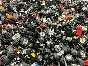 LEGO Wheels & Tyres - 500g (1/2KG) of GENUINE Lego for Technic, City, Lego sets