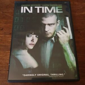 In Time DVD R4 Like New! FREE POST