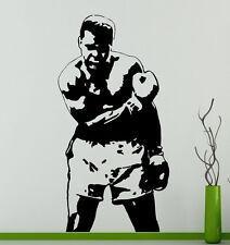 Muhammad Ali Wall Decal Cassius Clay Vinyl Stickers Sport Home Art Interior 1mal