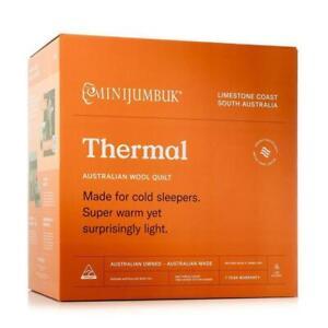 MiniJumbuk Thermal Australian Made Wool Quilt