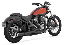 Vance & Hines Pro Pipe Black Exhaust For 2012-2014 Harley Softail Slim FLS