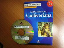 Fumetto erotico Milo Manara Gulliveriana CD ROM per pc