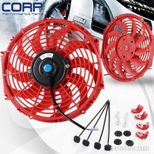 "Universal 12"" Fan Motor Engine Radiator Oil Cooler Cooling Electric Pull Push"