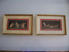 Ancienne peinture signée. Old painting signed
