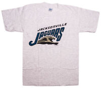 Vintage SALEM SPORTSWEAR Jacksonville Jaguars NFL T-Shirt Medium M Gray ~ New