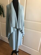 Etecetera Women's Sweater Long Layered Open Cardigan Size Medium