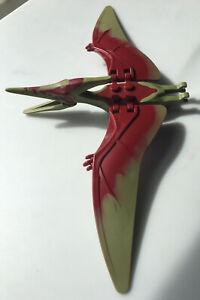 Lego Pteranodon Dinosaur Figure - Flying Dino Jurassic 75926 Olive Dark Red