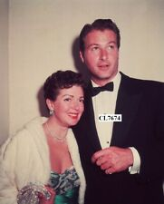 Lana Turner and Lex Barker at a Hollywood Party Photo