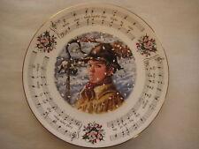 "1984 Royal Doulton Christmas Carols While Shepherds Watched Plate, 8 1/4"" Dia"