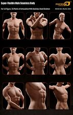 TBLeague 1/6 Super Flexible Male Body Seamless Suntan Figure PL2016-M31
