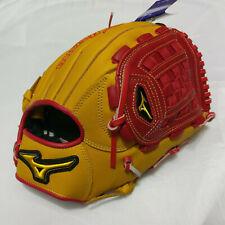 "MIZUNO MVP 12"" Basket Web TAN/Red Pitcher Right-Handed Thrower Softball Glove"