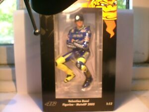 WOW EXTREMELY RARE MINICHAMPS 1/12 VALENTINO ROSSI MOTO GP 2005 OUTSTANDING NLA