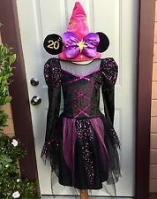 EURO DISNEY PARIS MINNIE MOUSE 20th ANNIV PLUSH COSTUME HAT DRESS GIRLS XL 11 12