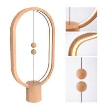 CRAZYBOSS Hanging Magnetic Balance LED Light Lamp Actual Wood