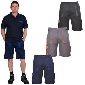 Portwest Men's TEXO Contrast Work Cargo Shorts | Multi Pocket
