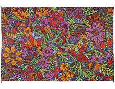 3D Lush Flower Tapestry Cotton Floral Art Tablecloth Rectangular 60 x 90 inches