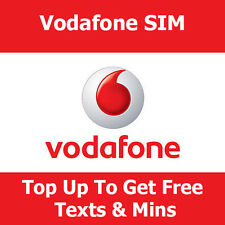 Pay as you go SIM card di Vodafone per Apple iPhone Top Up gratuita TESTI & MINUTI