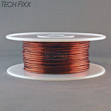 Magnet Wire 15 Gauge AWG Enameled Copper 200 Feet Generator Coil Winding 200C