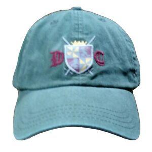 Cremieux Hat Ball Cap Strapback Olive Green DC Swords Shield Crown Crest Patch