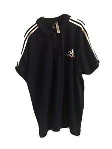 Unworn AdidasMens 2XL Blue Polo Shirt - See Description