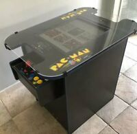"""Retro Cocktail Arcade Machine With Large 21"""" Monitor and 412 Classic Games"""