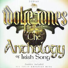 WOLFE TONES THE ANTHOLOGY OF IRISH SONGS 2 CD SET - BRAND NEW