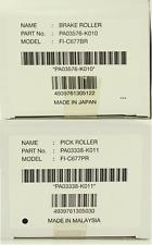One Genuine OEM Fujitsu PA03338-K011 PA03576-K010 Pick/Brake Roller kit fi-6670
