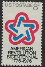 Scott 1432- American Revolution Bicentennial- MNH 8c 1971- unused mint stamp
