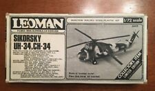 Sikorsky UH/CH-34 Helicopter Leoman 1/72 scale  aircraft resin/plastic kit#A8415
