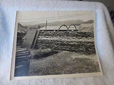 1945+ GUAM PHOTO Black White Glossy Marine Corps Sandbags Medical Unit Baker