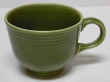 Antique Vtg 1969 FIESTA TURF GREEN COFFEE OR TEA CUP HOMER LAUGHLIN FIESTAWARE