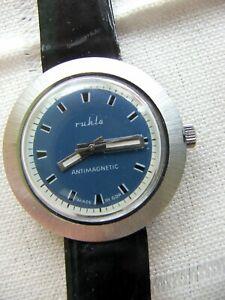 Seltene  Ruhla- Armbanduhr Ungetragen! !