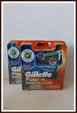 16 Gillette Fusion Proglide Power Rasierklingen in OVP mit Seriennummer