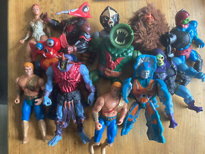 Vintage MOTU Mattel He-Man Masters Of The Universe Vintage Figure Bundle Job Lot