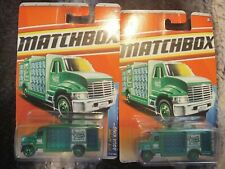 Matchbox 2011 City Action Aqua King Bottle Diecast Car Lot of 2: New In Package