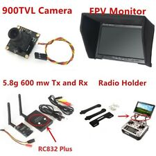 Fpv System 900TVL Camera 5.8G 600mw transmitter receiver and Monitor for QAV250