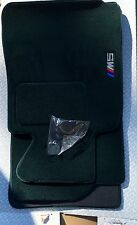 BMW OEM Series E39, M5 Emblem, DK Green CARPET FLOOR MATS 82110009044