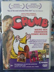 Crumb DVD, Robert Crumb, Underground Comics, documentary, Madman, art, cult