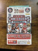 2020 Panini Contenders Football Hanger Box Brand New Factory Sealed box